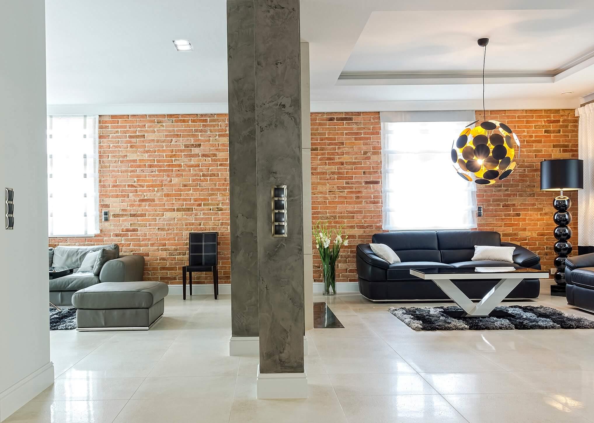 aranżacja salonu- przestrzeń wypoczynkowa